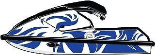 Exotic Signs Kawasaki Jet Ski 650 SX Graphic Kit, Jungle Swirl - EK0018K650
