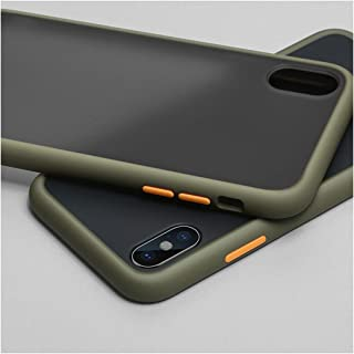アンチノックアーマーケースfor Xiaomi Redmi Note 7 6 Note 8 Pro 8T 8A 7A for Xiaomi Mi 9t 8 9 Lite Pro cc9 A3 Pocophone F1 Matte case,For Mi A3,Green