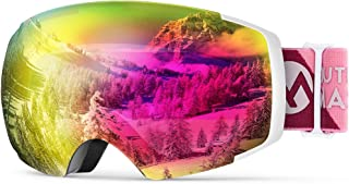 OutdoorMaster Zealot Ski Goggles, Ex-Anti-Fog Color Optimized Snowboard Goggles
