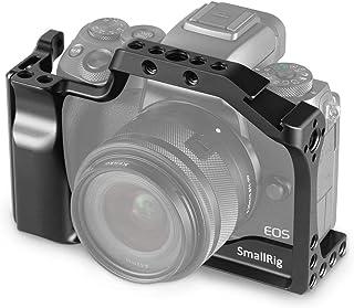 SMALLRIG Cage para Canon EOS M50 / M5 con Integrado Cold Shoe Grip y NATO Rail - 2168