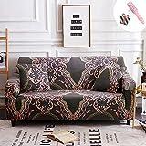 Elastisch Sofa Überwürfe Sofabezug, Morbuy Ecksofa L Form Stretch Antirutsch ArmlehnenSofahusse Sofa Abdeckung Hussen für Sofa Couchbezug Sesselbezug (1 Sitzer,Jacquard)