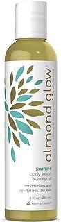 Home Health Almond Glow Jasmine Body Lotion - 8 fl oz - Skin Moisturizer & Massage Oil, With Peanut, Olive & Lanolin Oils ...