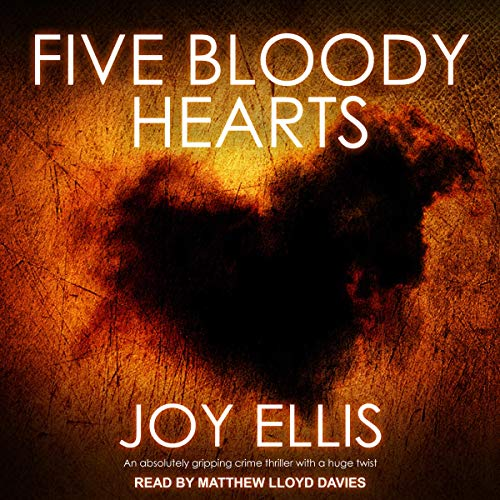 Five Bloody Hearts audiobook cover art