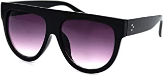 Women's Fashion Flat Top Super Future Retro Vintage Sunglasses P4156