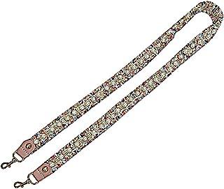 MoreChioce Tracolla Colorata da Donna, con Perle, Stile Etnico, 80 cm, Tracolla Rimovibile, Accessori Fai da Te per Borse