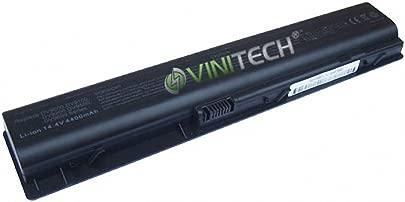 Vinitech Akku f r HP Pavilion DV9000T DV9040EA DV9000 DV9100 DV9200 DV9500 DV9600 DV9700 HSTNN-Q21C HSTNN-UB33 HSTNN-IB34 HSTNN-LB33 HSTNN-IB40 EV087AA 416996-422 432974-001 434877-141 448007-001 4400mAh