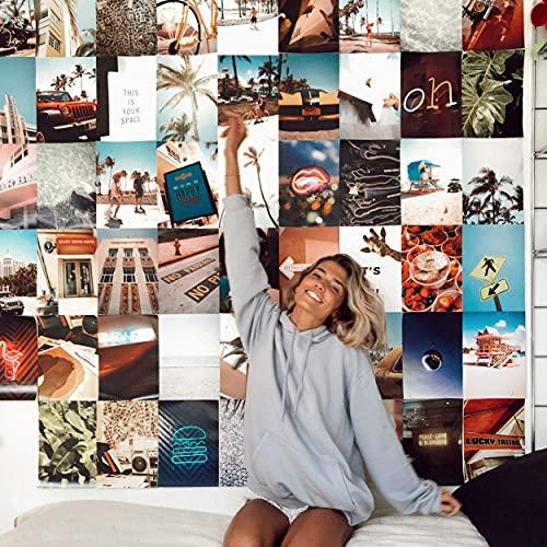 Flamingueo Fotos Pared Decoracion - 100 Fotos Decoracion Habitacion Aesthetic, Decoracion Paredes Dormitorio, Decoracion Habitacion Juvenil, Vinilos Pared, Posters para Pared, Decoracion Hogar (Miami) ⭐