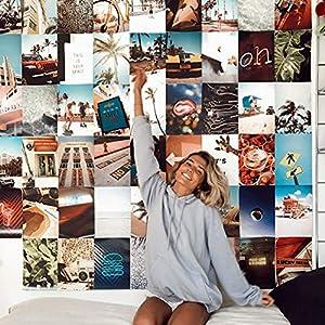 Flamingueo Fotos Pared Decoracion - 100 Fotos Decoracion Habitacion Aesthetic, Decoracion Paredes Dormitorio, Decoracion Habitacion Juvenil, Vinilos Pared, Posters para Pared, Decoracion Hogar (Miami)