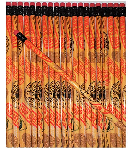 Zugar Land 7.5' TOP Secret #2 Pencils (24 Pack) Spy Games in Class!