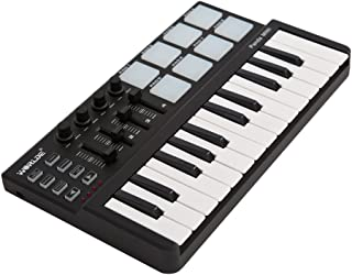 ammoon Worlde Panda mini Portable Mini 25-Key USB Keyboard a