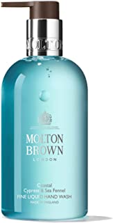 Molton Brown Coastal Cypress & Sea Hennel - Jabón de manos líquido fino, 300 ml