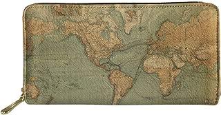 Zoo Animal Pattern Long Wallet for Women Travel Clutch Bag