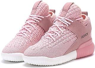 ZLYZS Forman Los Zapatos Corrientes Ocasionales De Las Mujeres, Zapatos De Aire Respirable Malla Zapatillas De Deporte Wal...