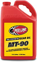 Red Line (50305) Manual Transmission (MT) 90W Gear Oil – Synthetic Gear Lube – 1 Gallon