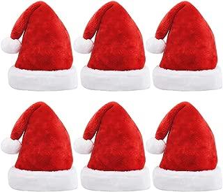 silver santa hats