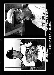 1993 Conlon Collection Baseball #932 Grover Cleveland Alexander/Nolan Ryan Official MLB Trading Card From The Sporting News