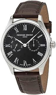 Frederique Constant Classics Quartz Movement Black Dial Men's Watch FC-259BR5B6-DBR