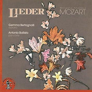 Wolfgang Amadeus Mozart: Lieder