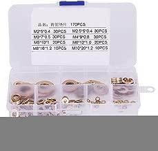 16 * 80 mm Zerone 4 piezas separador de tornillo separador de vidrio hueco de acero inoxidable separadores accesorios de sujetador de u/ñas