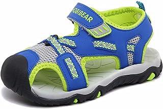 HOBIBEAR Boys Outdoor Closed-Toe Summer Sport Sandals