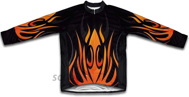 Fire Blaze Winter Thermal Cycling Jersey for Women