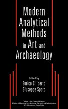 Modern Analytical Methods in Art and Archaeology