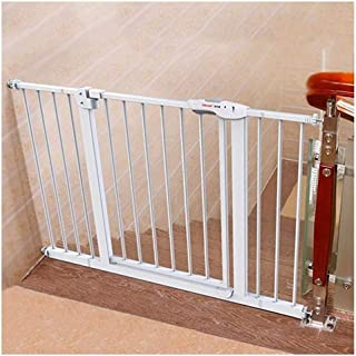 Telescopic Baby Gates for Stairs Guardrail Extra Wide Security Door Fence Pet Isolation Door Bar Free Punching Self Closing