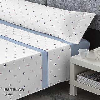 Juego s/ábanas Infantil Pirata Catotex Color Azul Sedalinne CATOTEX Cama de 90 cm