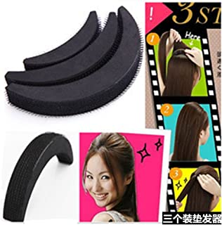 Lovef 6Pcs Charming Fringe BUMP IT UP Volume Inserts Do Beehive hair styler Clip Stick Insert Tool Magic Hair Base Comb Princess Party Prom Hair Accessories