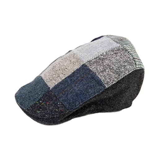 8f271914 Hanna Hats Men's Donegal Tweed Donegal Touring Cap