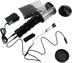 Prettyia Portable Electrostatic Flocking Machine Comfortable Grip Flock Applicator, Battery or Charging Powered
