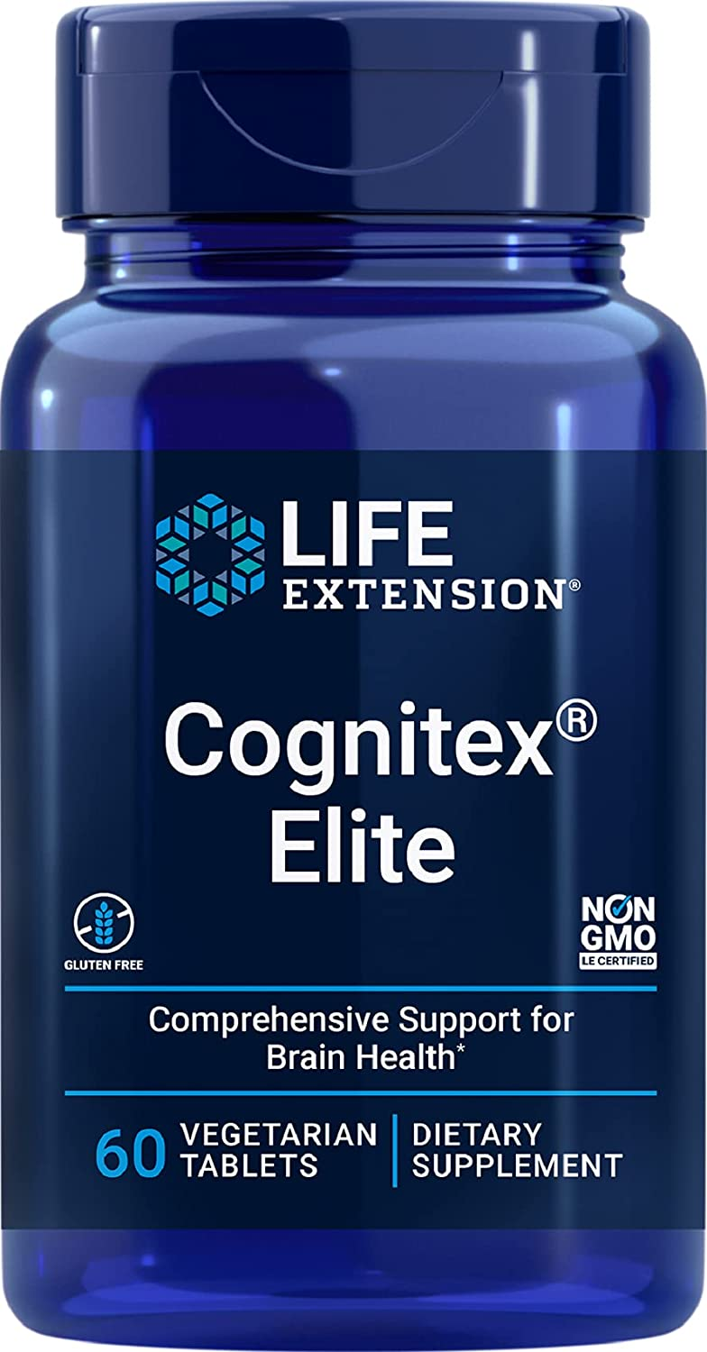 Life Selling rankings Extension Cognitex Elite Brain Formula 60 Health Tabelts Clearance SALE Limited time