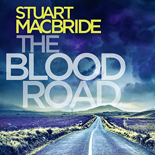 The Blood Road audiobook cover art
