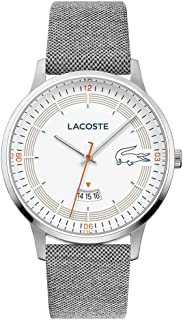 Lacoste Men's Quartz Watch, Analog Display and Textile Strap 2011031