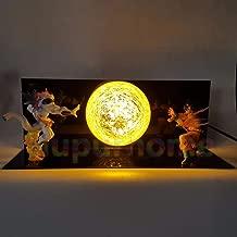Son Goku VS Freeza Led Night Lights Dragon Ball Z Table Lamp Anime Dragon Ball Z DBZ Son Goku Led Lamp Christmas Decor