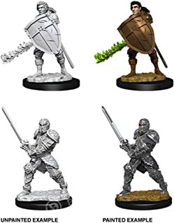 Dungeons & Dragons Nolzur's Marvelous Unpainted Minis: Male Human Fighter