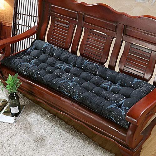 Anben - Cuscino per panca da giardino, tappetino spesso, in legno morbido, cuscino per sedia a dondolo, 2-3 posti, per esterni, 55 x 160 cm