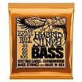 Ernie Ball Slinky Jeu de cordes pour guitare basse Hybrid…
