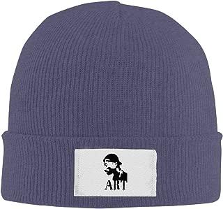 Amone 2pacs Winter Knitting Wool Warm Hat Black