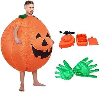 Nbrand Citrouille Non-Tiss/é Costume Chemise V/êtements Citrouille Costume Tenue Habillage Cosplay Manches Chauve-Souris Barboteuse avec Chapeau pour Enfants Enfants Gar/çons Filles
