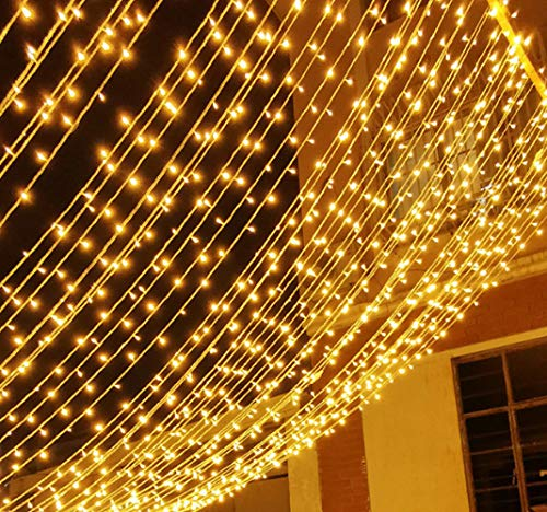Luces Solares Led Luces De Colores Sin Enchufe Al Aire Libre Impermeable Park Patio Proyecto Iluminación Luces Decorativas Luz de 7m 50 Blanco cálido