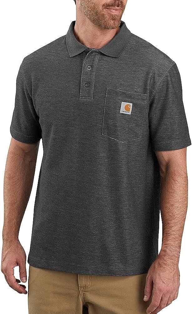 Carhartt Men's Contractors Work Pocket Polo Original Fit