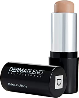 Dermablend Quick-Fix Body Makeup Full Coverage Foundation Stick, Water-Resistant Body Concealer for Imperfections & Tattoos, 0.42 Oz