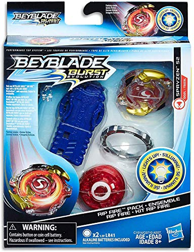 BEYBLADE Burst Evolution Rip Fire Starter Pack Spryzen S2