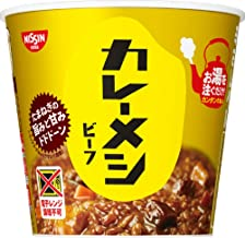 Nissin Foods Curry Meal, Beef, 3.8 oz (107 g) x 6 Packs