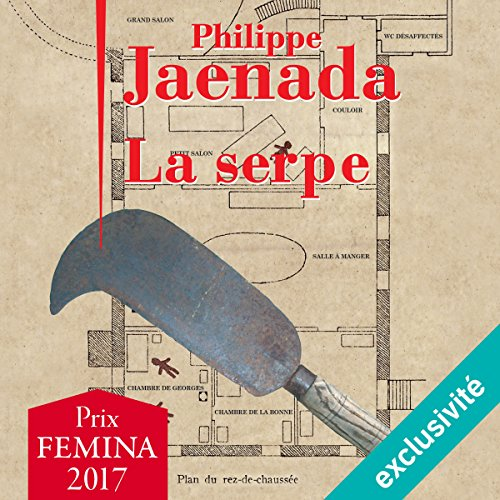 La serpe audiobook cover art