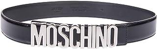 Luxury Fashion | Moschino Womens A801280071555 Black Belt | Fall Winter 19