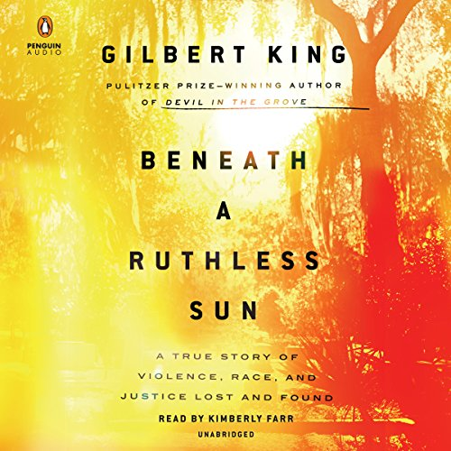 Beneath a Ruthless Sun audiobook cover art