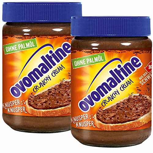 Ovomaltine Crunchy Cream, confezione da 2 (2x 380 g)