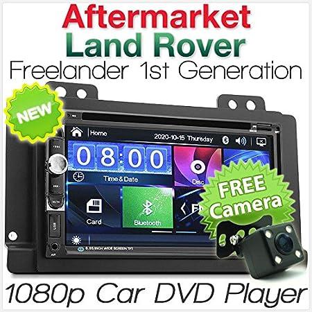 Tunez 7 Inch Double Din Car Radio Dvd Cd Usb Mp3 Mp4 Amazon Co Uk Electronics